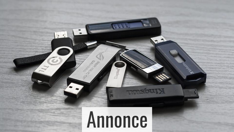 Giv din computer bedre brugsmuligheder med USB-hubs