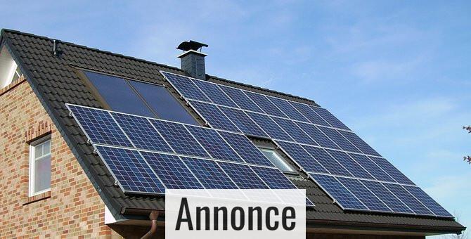 Hjælp miljøet ved at bruge solceller