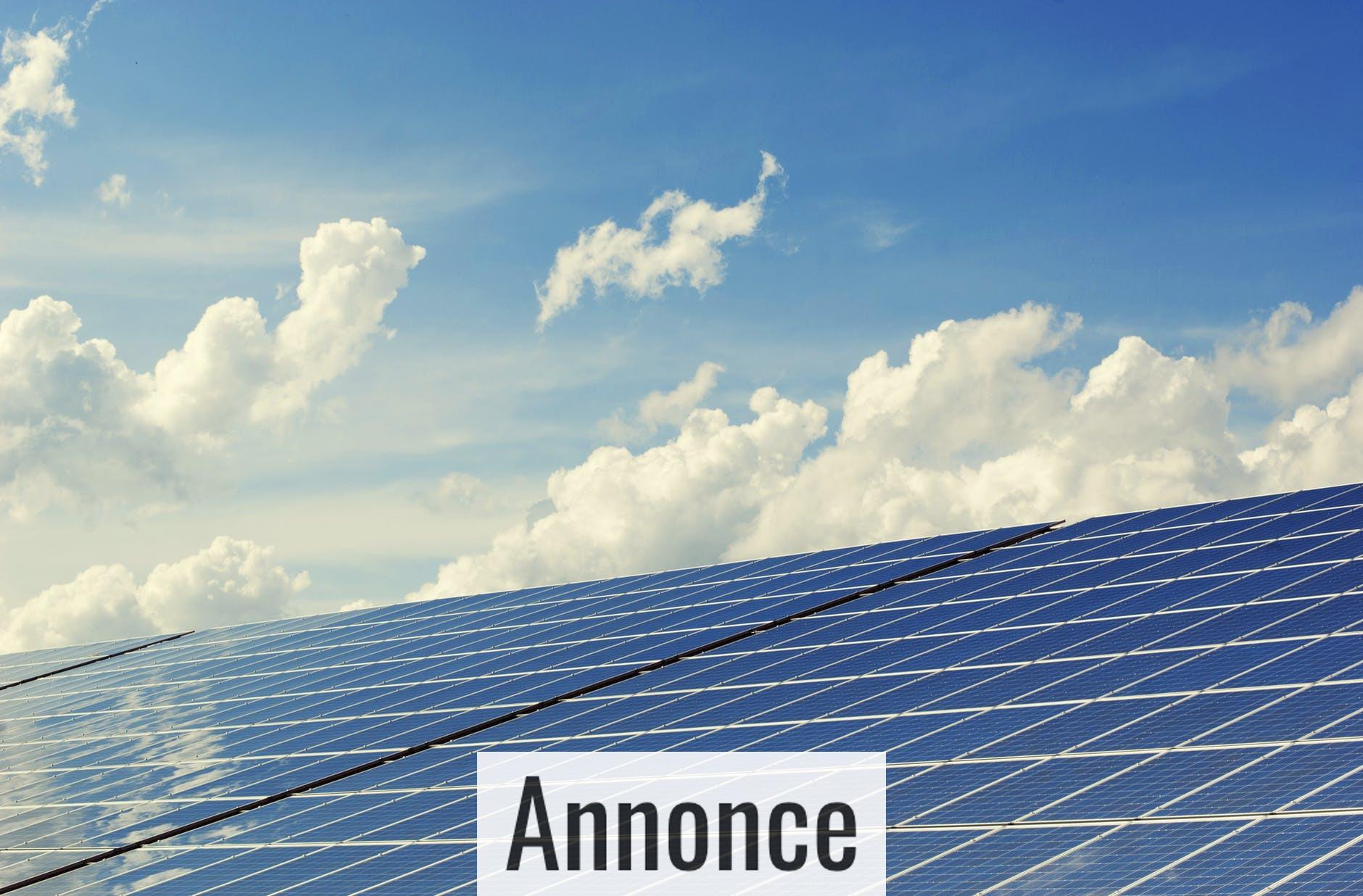 Få solceller på taget og reducér elregningen