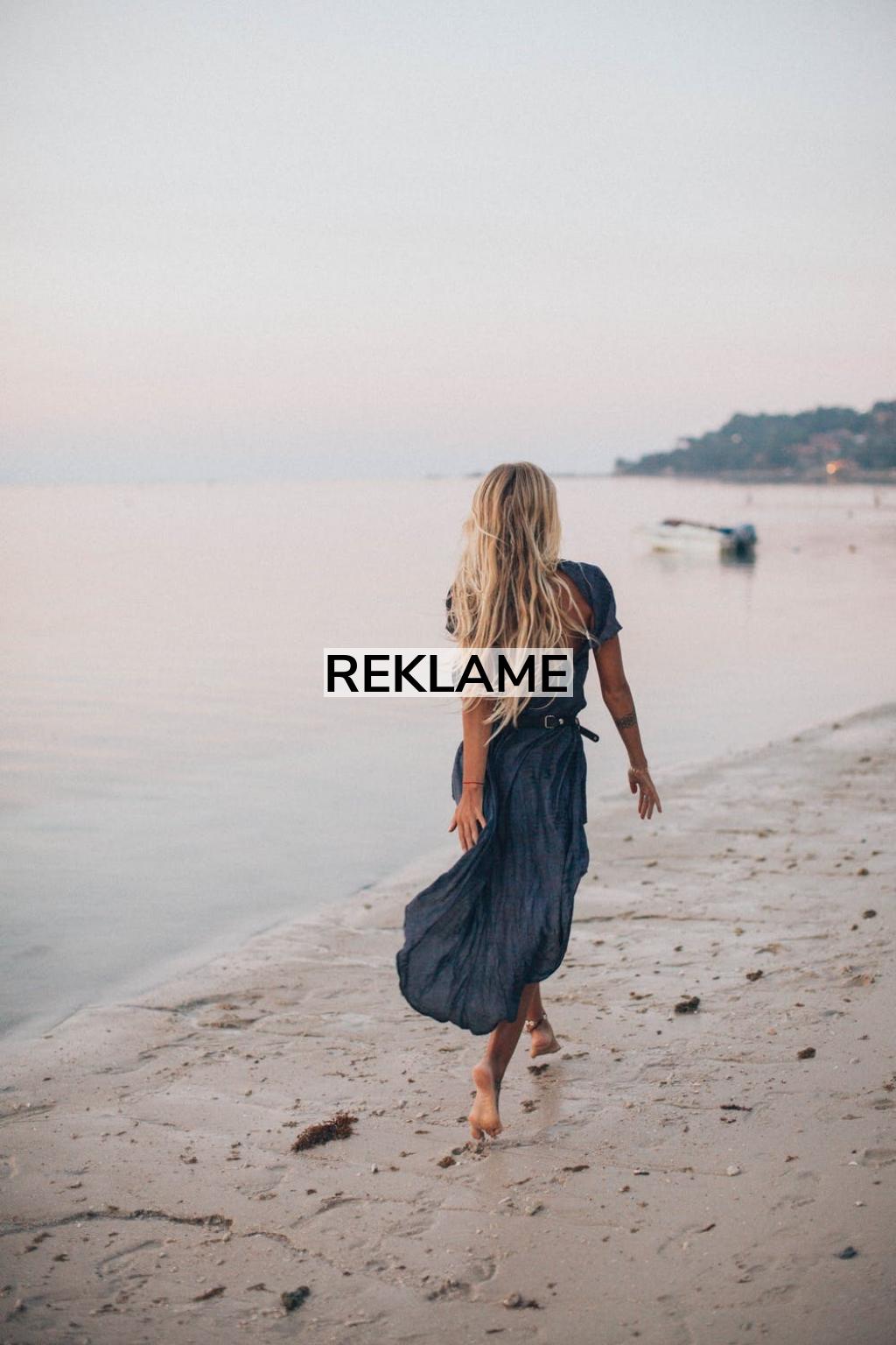 Find fred på stranden