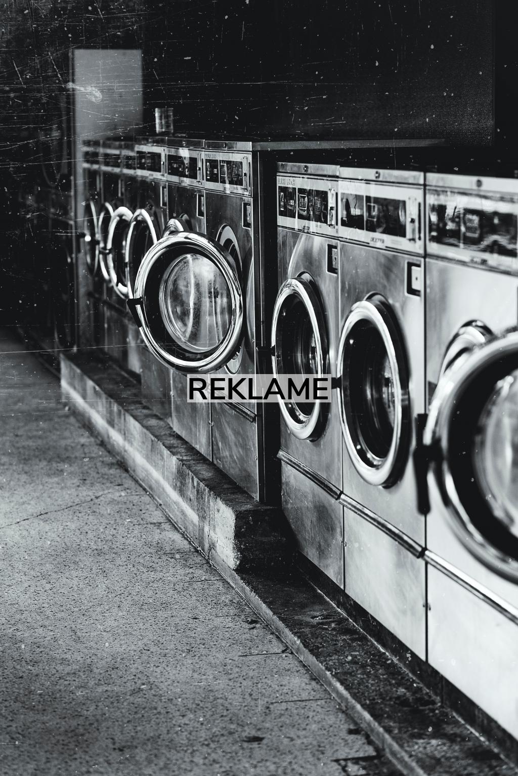 Problemer med tøjvasken? Prøv professionelt vaskeudstyr